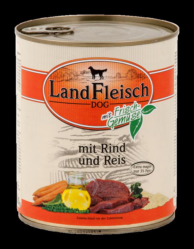 LandFleisch | Pur Rind & Reis extra mager