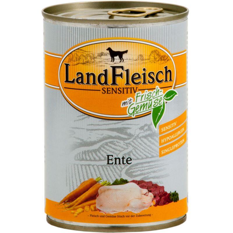 LandFleisch | Sensitiv Ente mit Frisch-Gemüse 400g