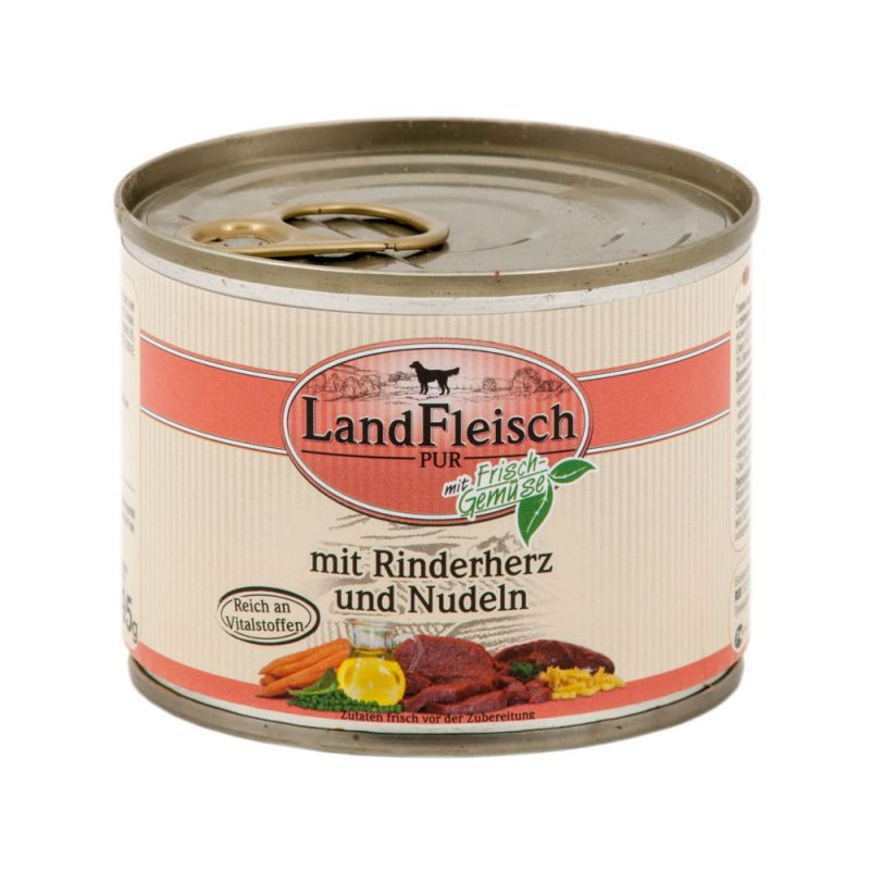 LandFleisch | Pur Rinderherz & Nudeln