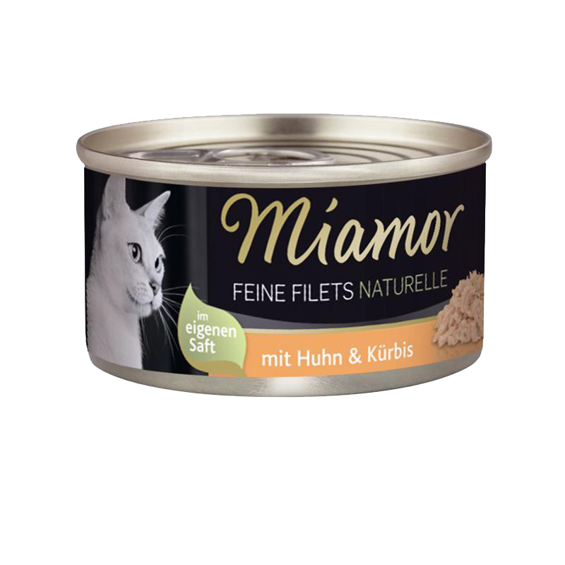 Miamor | Feine Filets Naturelle Huhn & Kürbis