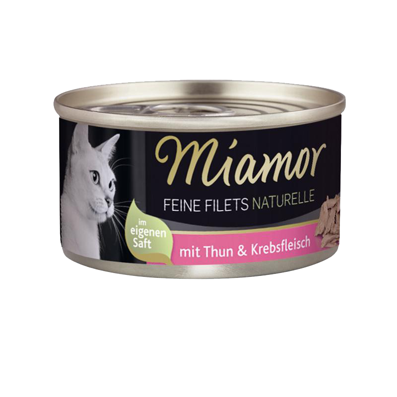 Miamor | Feine Filets Naturelle Thunfisch & Krebsfleisch
