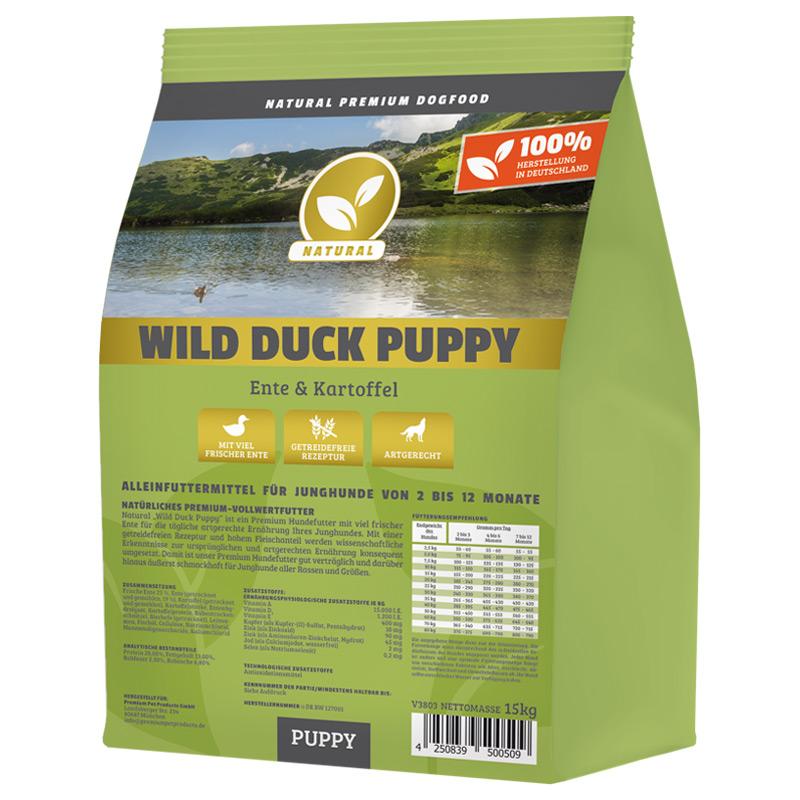 Hundeland Natural | Wild Duck Puppy