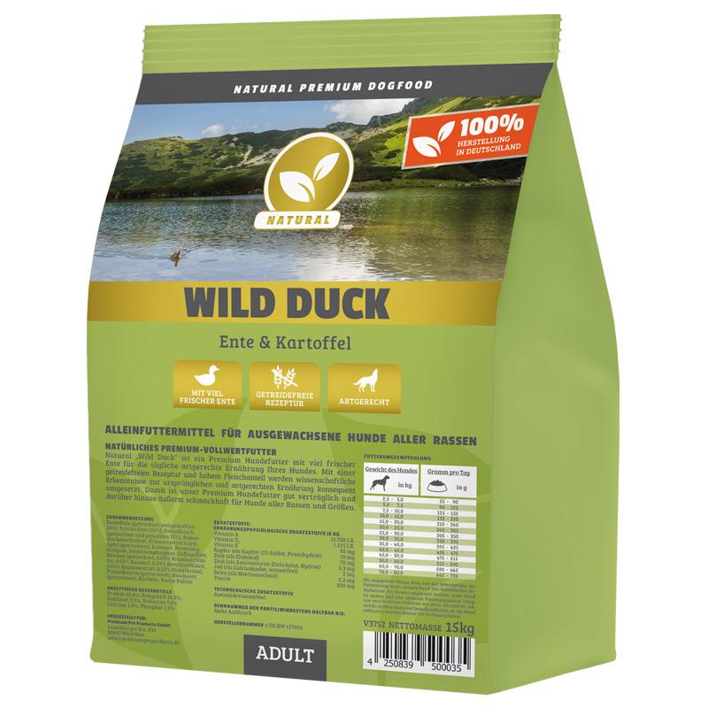 Hundeland Natural   Wild Duck