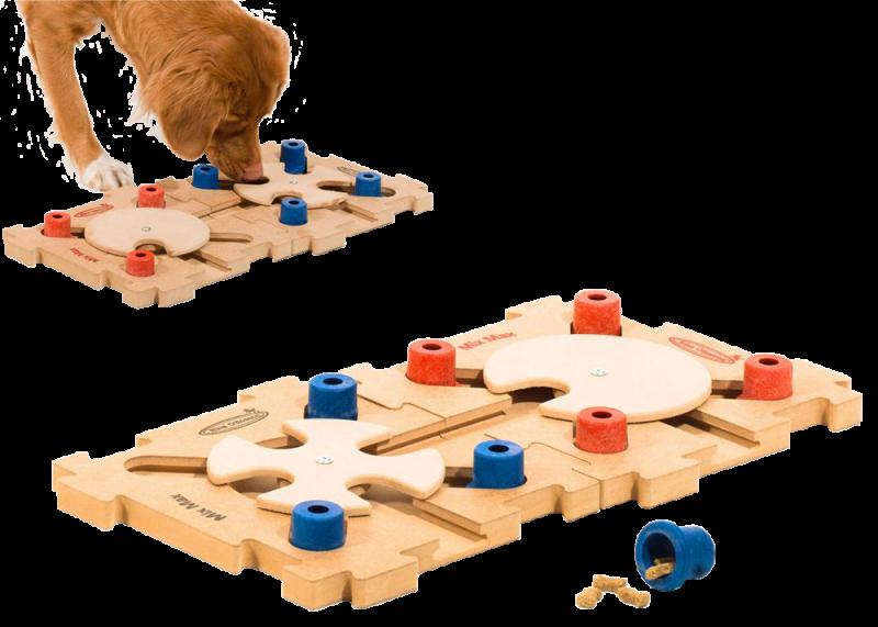 Nina Ottosson | Intelligenzspielzeug Mix Max Puzzle aus Holz Stufe B
