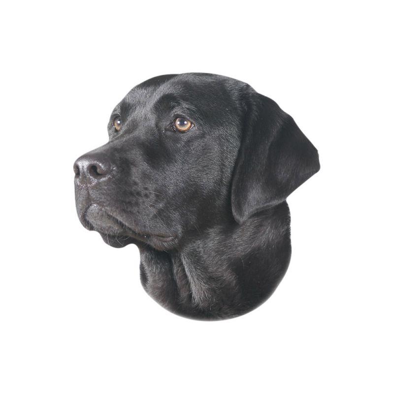 Nobby | Aufkleber Labrador schwarz
