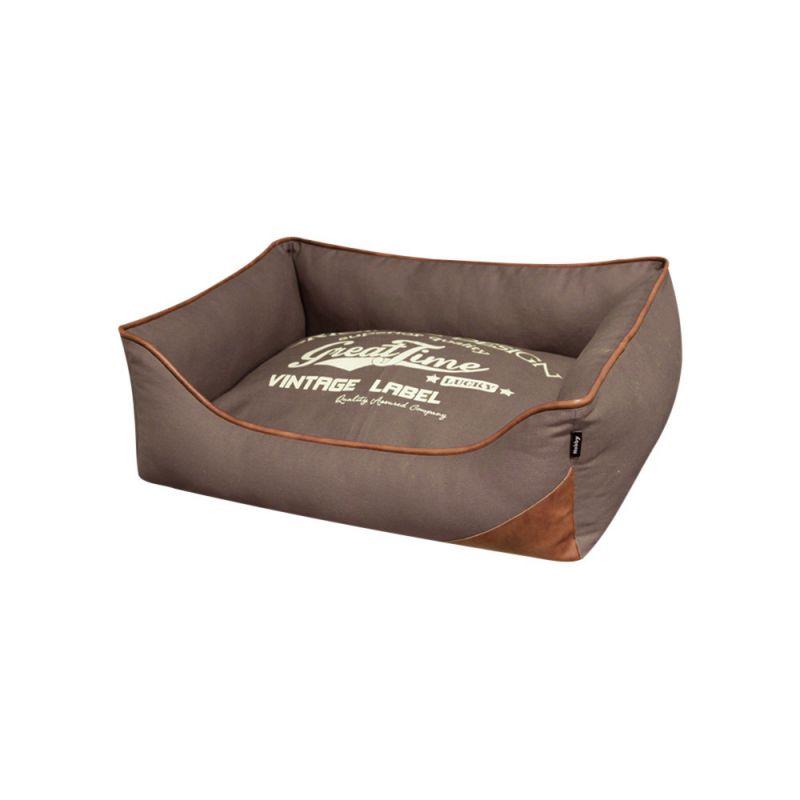 Nobby | Komfort Bett eckig ZARIN braun