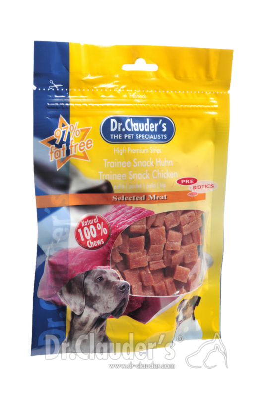 Dr. Clauder's | Selected Meat Prebiotics Chicken Trainee Snack