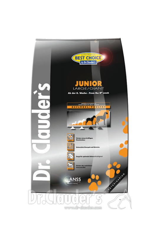Dr. Clauder's | Best Choice Junior Large/Giant