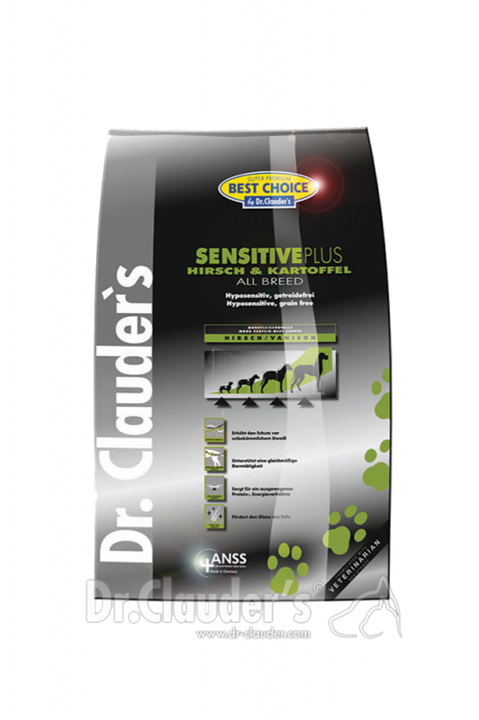 Dr. Clauder's | Best Choice Hirsch & Kartoffel All Breed Sensitive Plus