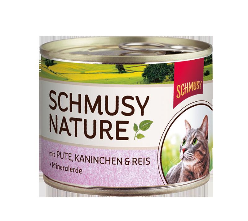 Schmusy | Nature mit Pute, Kaninchen & Reis