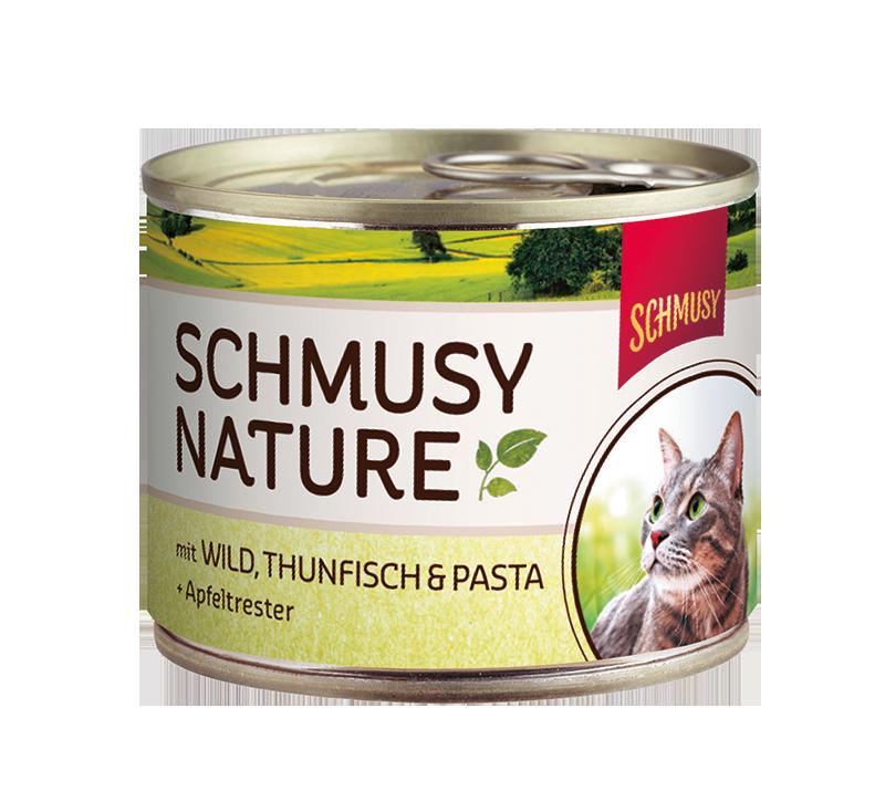 Schmusy | Nature mit Wild, Thunfisch & Pasta & Apfeltrester