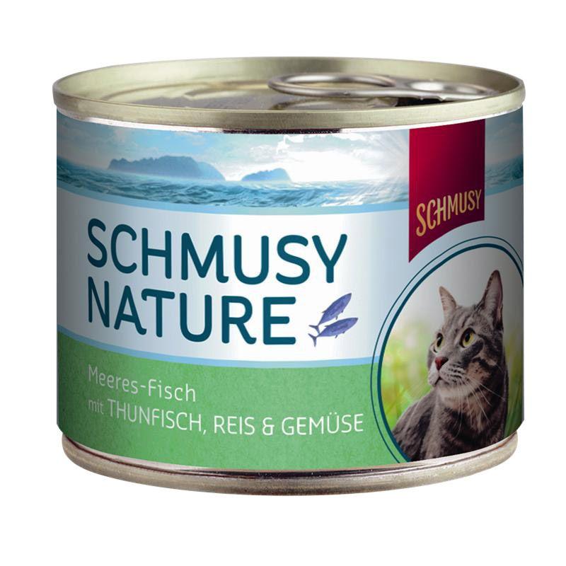Schmusy | Nature Meeresfisch mit Thunfisch,Reis & Gemüse