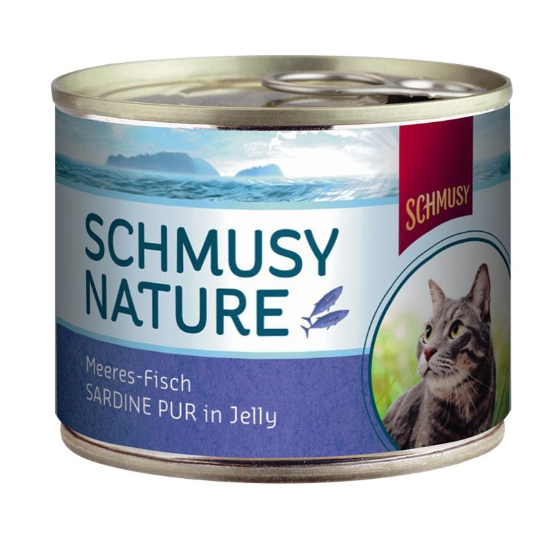 Schmusy | Nature Meeresfisch Sardine Pur in Jelly