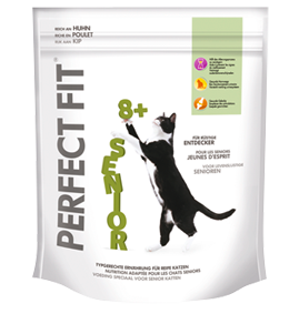 Perfect Fit | Katze Senior reich an Huhn