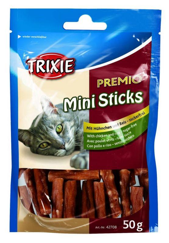 Trixie | Premio Mini Sticks, Hühnchen Reis