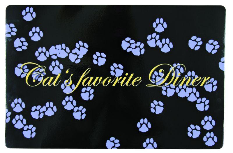 Trixie | Napfunterlage Cat's favourite Diner, lila