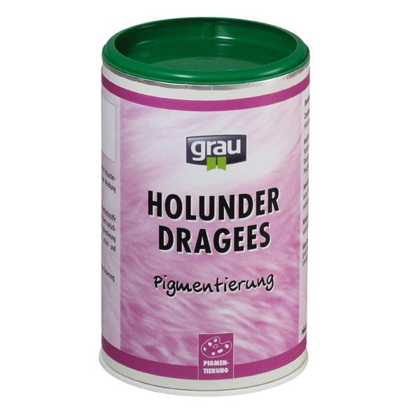 grau | Holunder Dragees