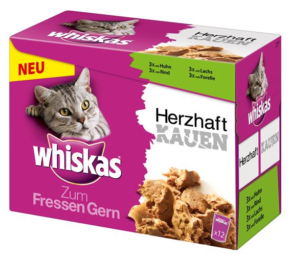 Whiskas | herzhaft Kauen Multipack