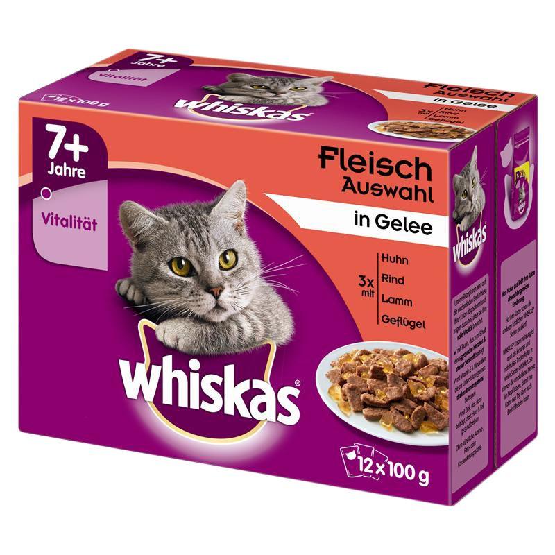 Whiskas | Fleisch Auswahl in Gelee Multipack