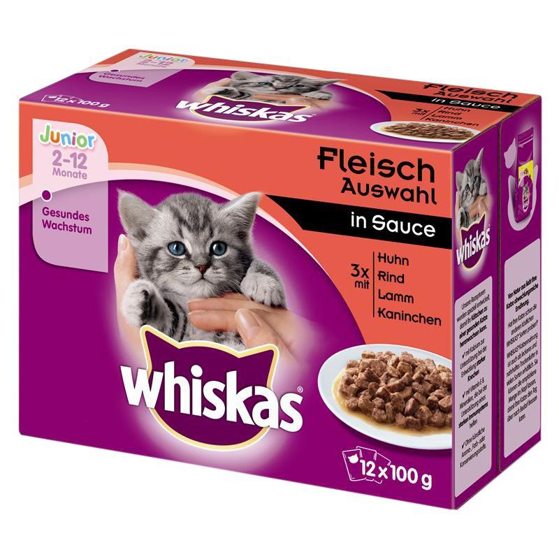 Whiskas | Fleisch Auswahl in Sauce Multipack
