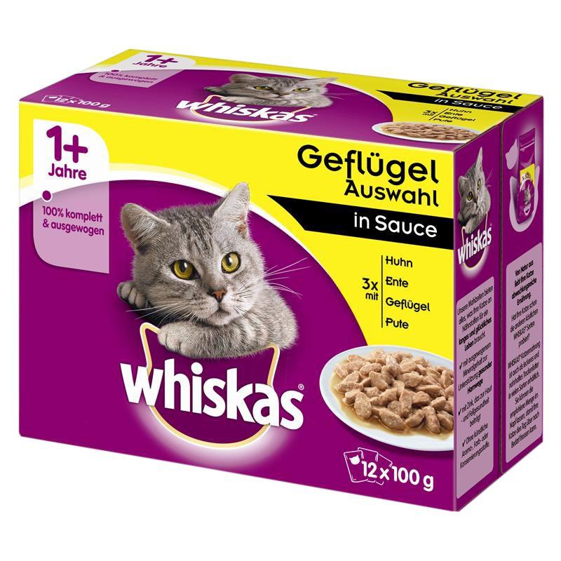 Whiskas | Geflügel Auswahl in Sauce Multipack