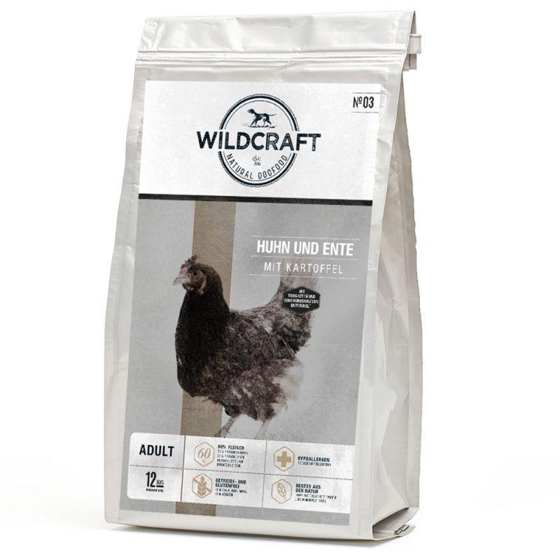 Wildcraft | Huhn und Ente mit Kartoffel | Geflügel,Trockenfutter 1