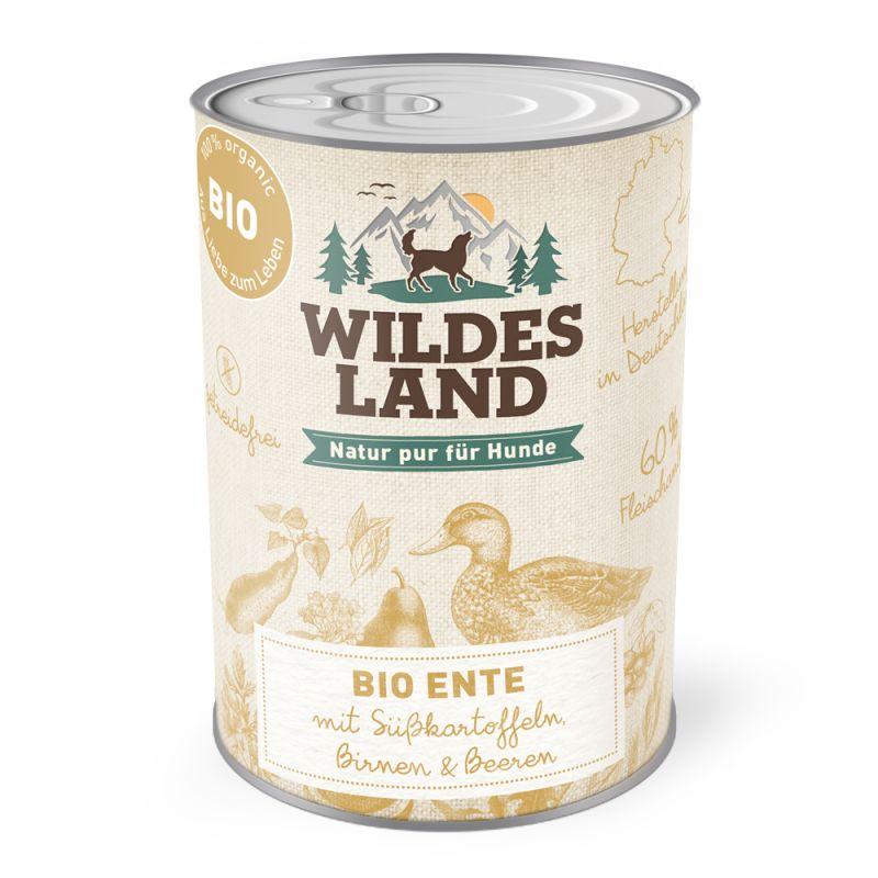 Wildes Land   BIO Ente (getreidefrei)