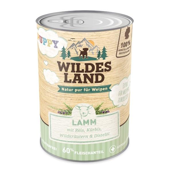 Wildes Land   Puppy - Lamm mit Reis