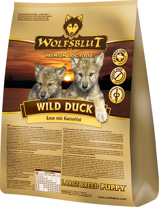 Wolfsblut | Wild Duck Puppy Large