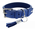 Halsband Cannes in Blau
