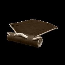Surplus | Reisedecke Basic braun | L 100 x B 75 cm