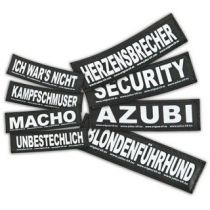 Julius K-9 | Klettsticker für Powergeschirr L-XL