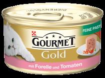 Gourmet | Gold Feine Pastete mit Forelle und Tomaten