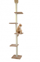 CAT DREAM | Kratzbaum raumhoch - beige