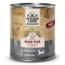 Wildes Land | Rind PUR mit Distelöl | 6 x 800 g