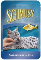 Schmusy | Fisch Sardine Pur im Frischebeutel