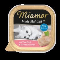 Miamor | Milde Mahlzeit Kitten Thunfisch & Huhn