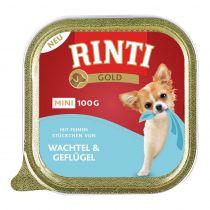 Rinti | Gold Mini Wachtel & Geflügel