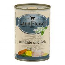 LandFleisch | Pur mit Ente und Reis mit Frisch-Gemüse