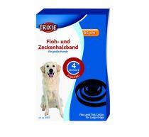 Trixie | Floh und Zeckenband, große Hunde, schwarz
