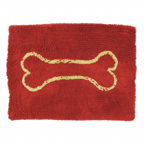 Dog Gone Smart | Dirty Dog Doormat in Rot