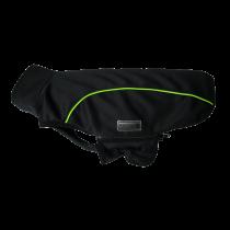 Wolters | Softshell-Jacke Basic in Schwarz/Limone