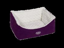 Nobby | Komfort Bett eckig ARUSHA lila
