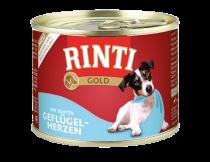 Rinti | Gold Geflügelherzen