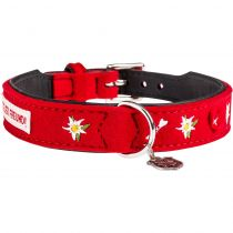 "Hunter | Halsband Adelheid ""Treuer Freund"" Filz in Rot"