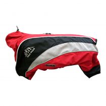 Wolters | Regenanzug Dogz Wear wasserdichtem RV rot/schwarz
