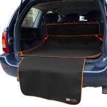 RAC | Universal Kofferraummatte mit Stoßstangenschutz