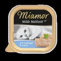 Miamor | Milde Mahlzeit mit Geflügel & Lachs