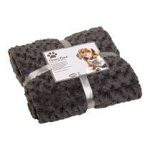 Nobby   Fleece Plaid SUPER SOFT grau S 60 x 85 cm grau