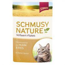 Schmusy | Nature Vollwert-Flakes mit Huhn & Reis